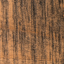 Detail of our rough cut nutmeg floating shelf. It's as juicy as they come.