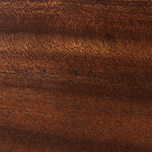Detail of our dutch mocha floating shelf. It's as juicy as they come.