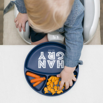Hangry Silicone Plate, by Bella Tunno