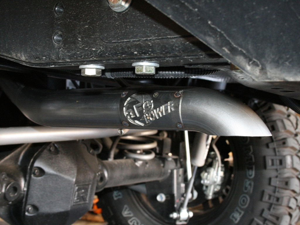 """aFe POWER 49-46226 MACH Force-Xp 2-1/2"""" 409 Stainless Steel Cat-Back Exhaust System"""