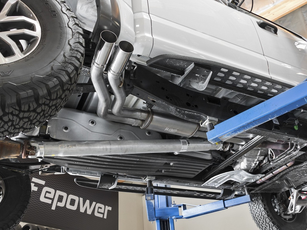 """aFe POWER 49-43091-P Rebel Series 3""""409 Stainless Steel Cat-Back Exhaust System"""