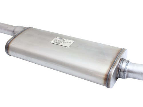 """aFe POWER 49-48054-B Rebel Series 2-1/2"""" 409 Stainless Steel Cat-Back Exhaust System"""