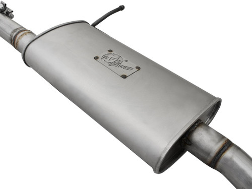 """aFe POWER 49-08040 Scorpion 2-1/2"""" Aluminized Steel Cat-Back Exhaust System"""