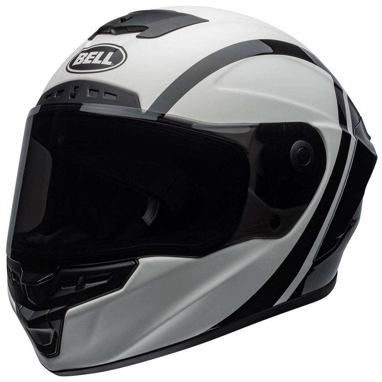 7833cafc Bell Qualifier Dlx Mips Matte Black Full Face Helmet : Ash Cycles