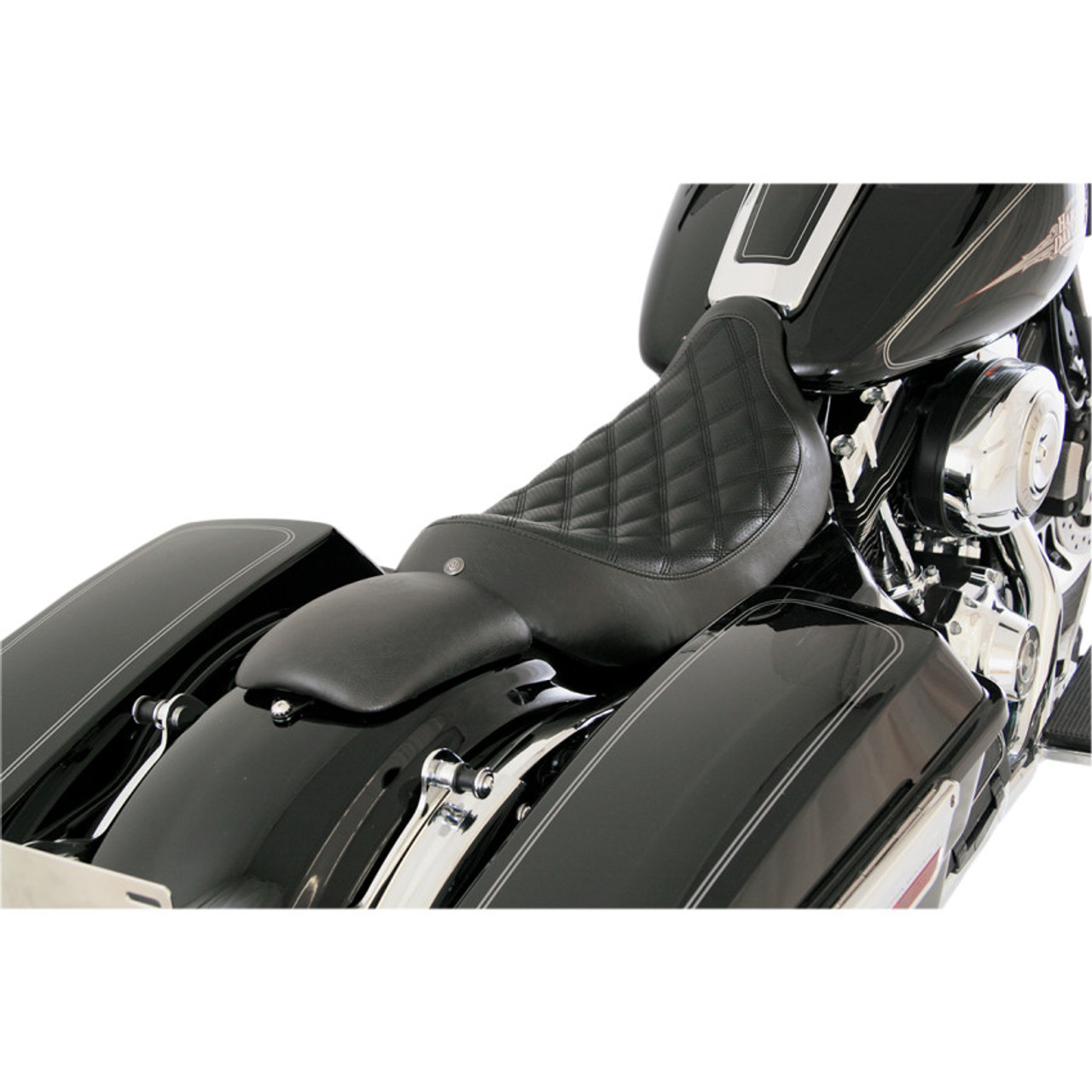 Roland Sands Boss Solo Seat For 2008 2016 Harley Touring