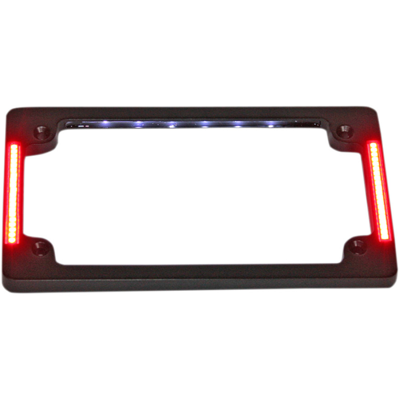 Custom Dynamics Tri-Horizontal License Plate Frame with Flush-Mount ...