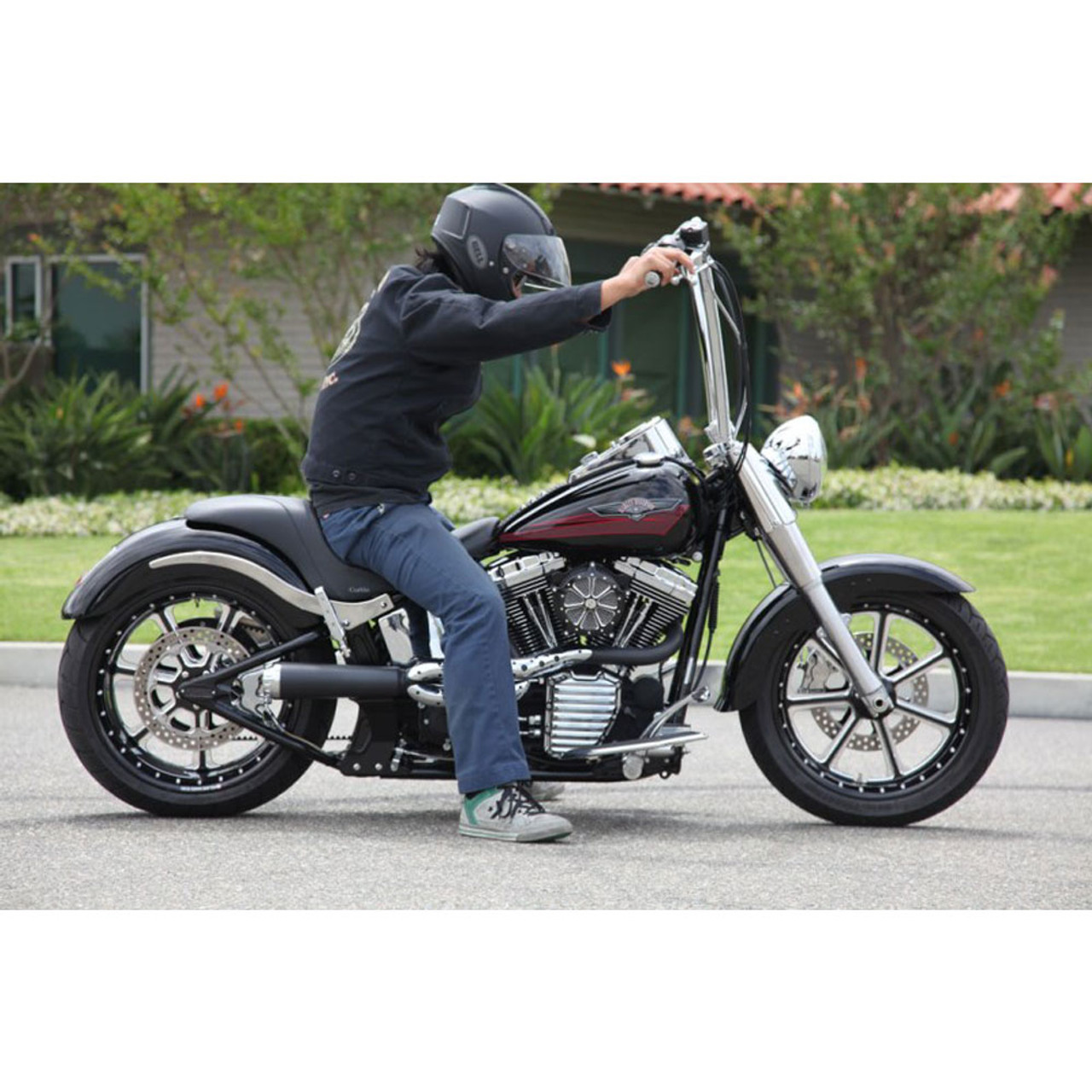 Roland Sands 1 4 King Ape Hangers Handlebars For Harley