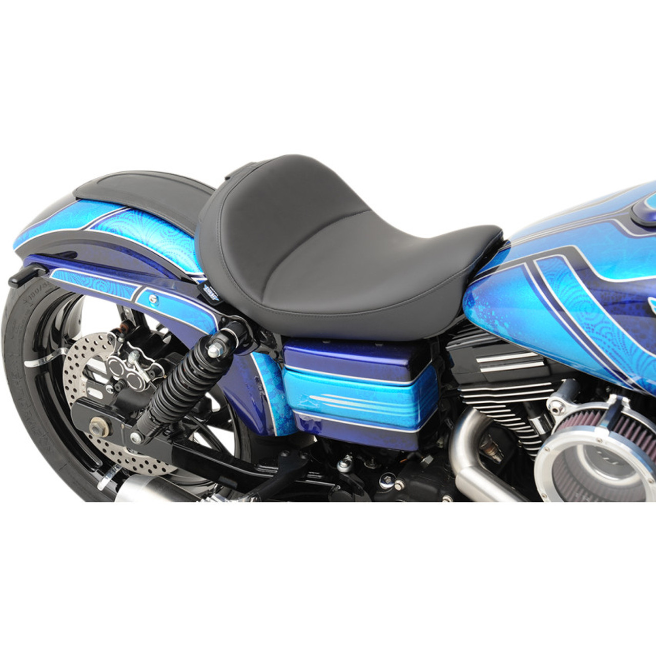 Drag Specialties Solo Seat With Backrest Option For 2006