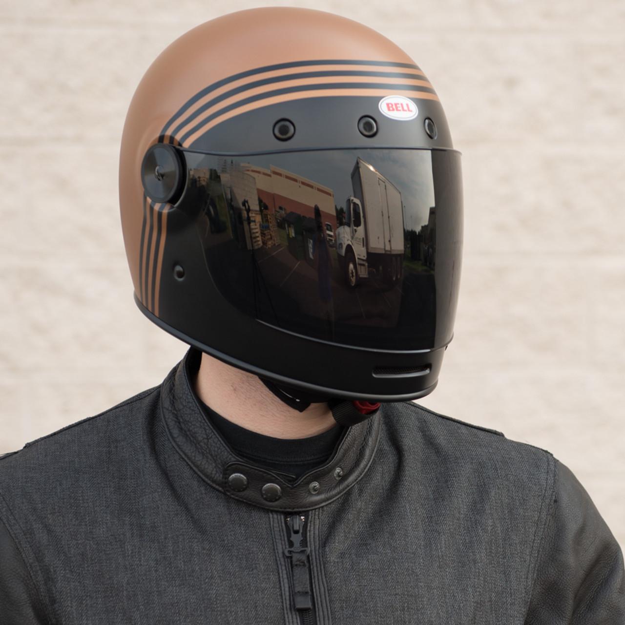 Bell Bullitt Matte Black Copper Forge Helmet