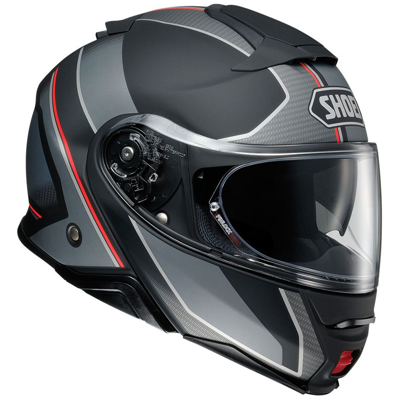 Motorcycle Riding Pants >> Shoei Neotec 2 Modular Motorcycle Helmet - Matte Excursion TC-5 - Get Lowered Cycles