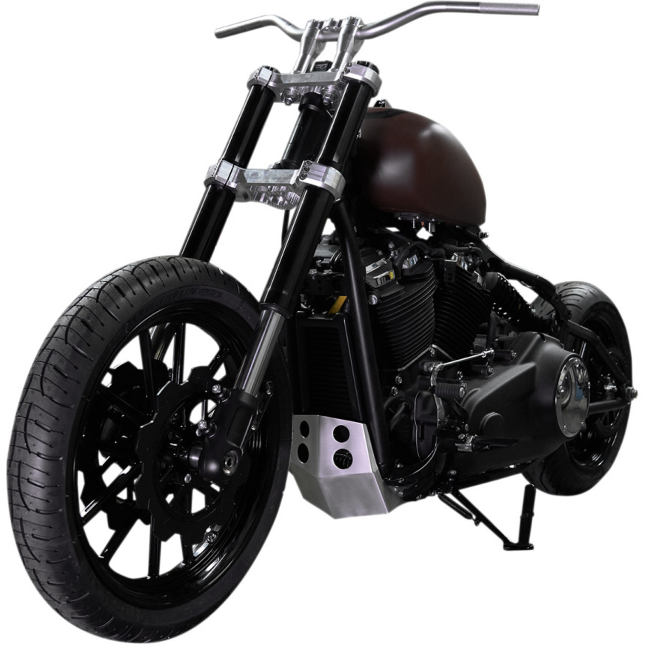 Speed Merchant Skid Plate for 2018 Harley Softail - Brushed - SM ...