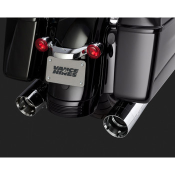 Vance & Hines Oversized 450 Slip-On Mufflers for 1995-2015 Harley Bagger