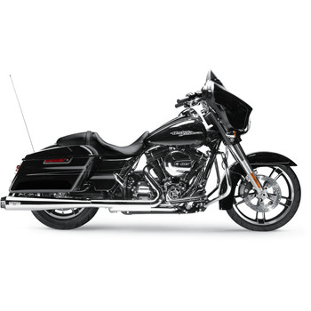 "Arlen Ness by MagnaFlow Redline Slip-Ons 4-1/2"" Exhaust Mufflers for 1995-2016 Harley Touring"
