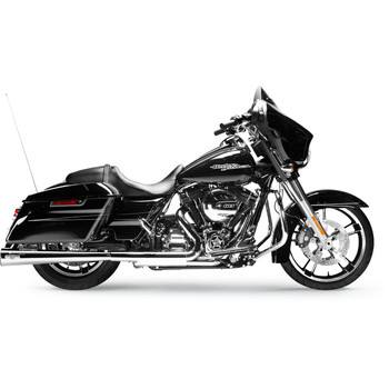 """Arlen Ness by MagnaFlow MegaCone Slip-Ons 2-1/2"""" Exhaust Mufflers for 1995-2016 Harley Touring"""