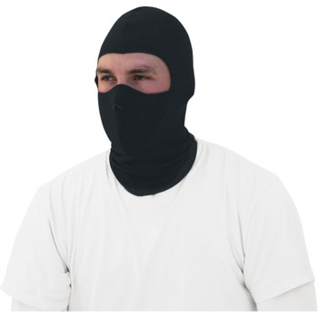 Zan Headgear Black CoolMax Balaclava with Neoprene Face Mask