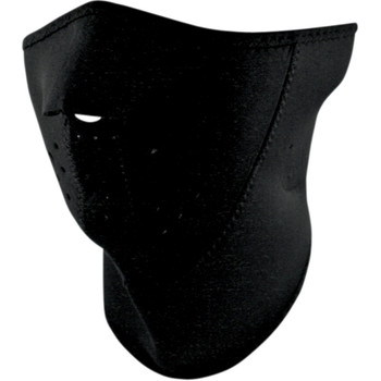 Zan Headgear Black 3 Panel Face Mask