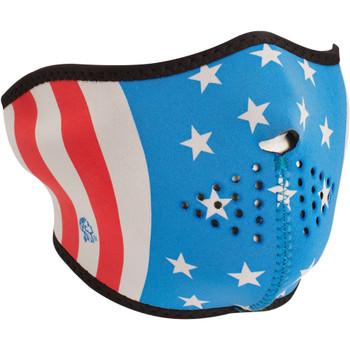 Zan Headgear Stars and Stripes Glow in the Dark Face Mask