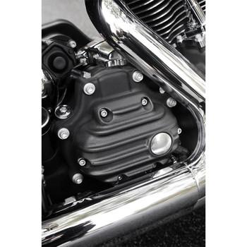 EMD Ribbed Transmission Side Covers for Harley Big Twin