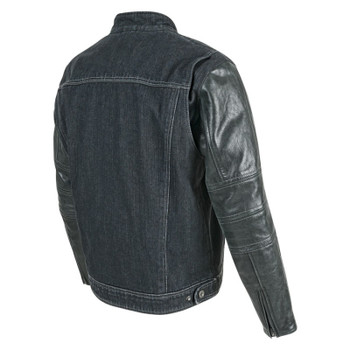 Speed and Strength Band of Brothers Leather/Denim Jacket