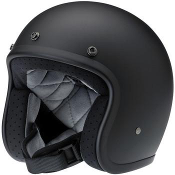 Biltwell Bonanza Helmet - Flat Black