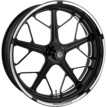 Roland Sands Hutch One-Piece Aluminum Rear Wheel for Harley