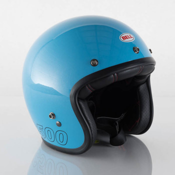 Bell Custom 500 Retro Blue Original Style Helmet