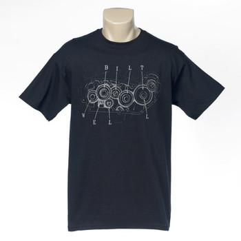 Biltwell Cam Sportster T-Shirt - Black