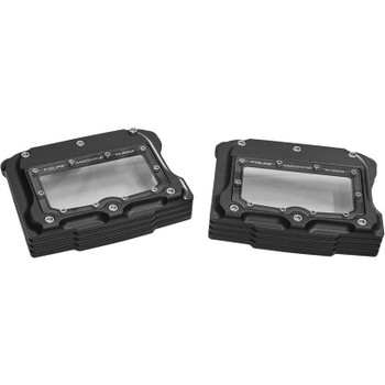 Figure Machine Vision Rocker Box Covers for Harley Twin Cam