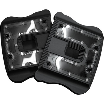 Figure Machine Vision Rocker Box Covers for 2004-2016 Harley Sportster
