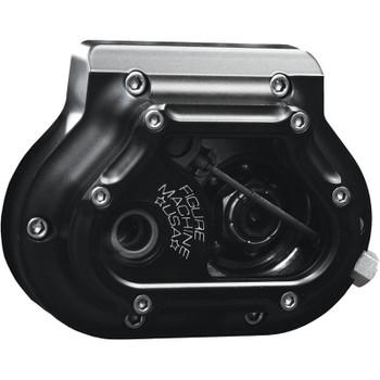 Figure Machine Vision Transmission Side Cover for Harley