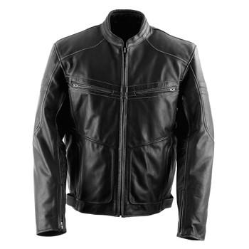 Black Brand Cutthroat Leather Jacket