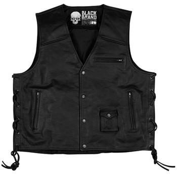 Black Brand Axe Vest