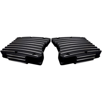 Covingtons Finned Rocker Box Top Covers for Harley Twin Cam