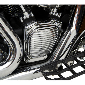 Eddie Trotta Ball-Milled Cam Cover for Harley Twin Cam - Chrome