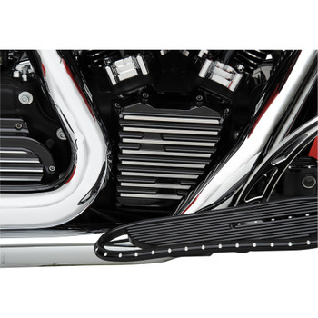 Covingtons Finned Cam Cover for Harley Twin Cam - Black