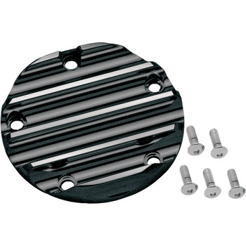 Covingtons Finned Points Cover for 1999-2016 Harley Twin Cam