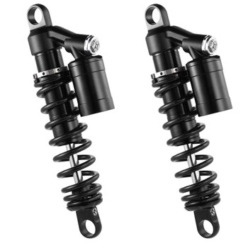 RacingBros HD HLR Remote Reservoir Shocks for 1991-2017 Harley Dyna