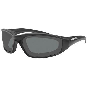 Black Brand Clutch Sunglasses