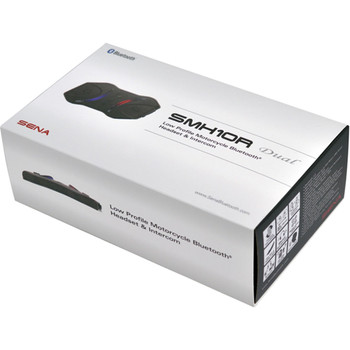 Sena SMH10R Low Profile Bluetooth Headset & Intercom - Dual Pack