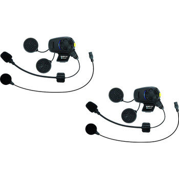 Sena SMH5 Stereo Headset with Bluetooth Intercom - Dual Pack