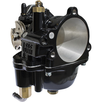 S&S Black Super E Carburetor for Harley