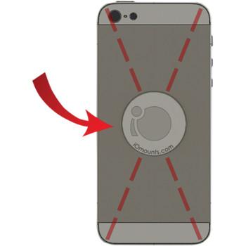 Klock Werks iOMounts Device Mount Replacement iOadapt Disc