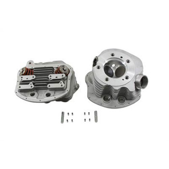 V-Twin Replica Panhead Cylinder Head Set with Valves for 1948-1954 Harley