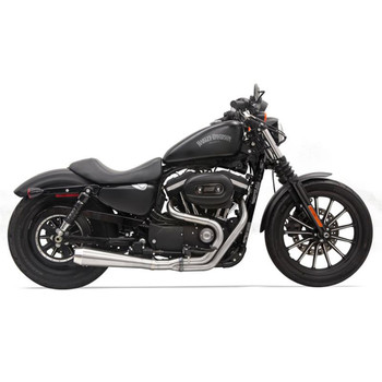Bassani Road Rage 3 Stainless Exhaust for 1986-2003 Harley Sportster