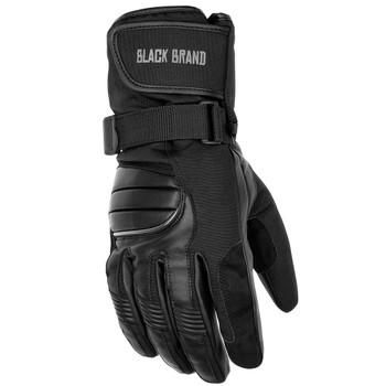 Black Brand Crossover Gloves