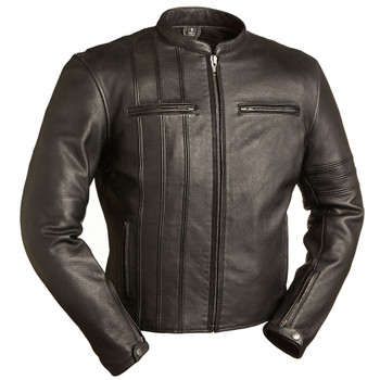 First Mfg. Cafe A Lister Leather Jacket