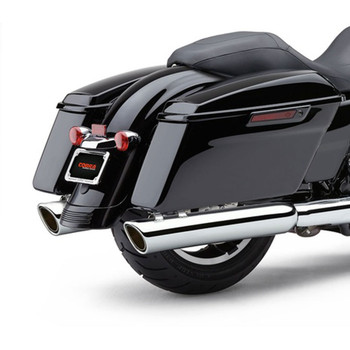 Cobra 909-Twins Exhaust Mufflers for 2017 Harley Touring - Chrome