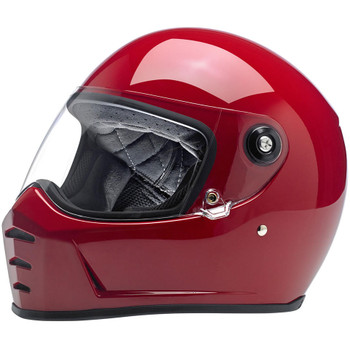 Biltwell Lane Splitter Helmet - Gloss Blood Red