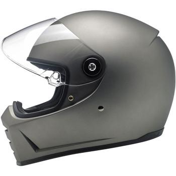 Biltwell Lane Splitter Helmet - Flat Titanium