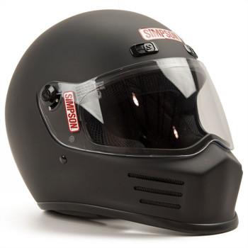 Simpson Street Bandit Helmet - Matte Black